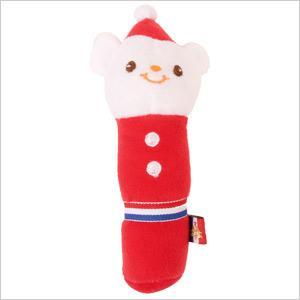 PeePeeTOY サンタアニマル(4060) 犬 ドッグ フェレット ペット おもちゃ ぬいぐるみ 玩具 音鳴り TOY クリスマス 飾り オーナメント 笛入り