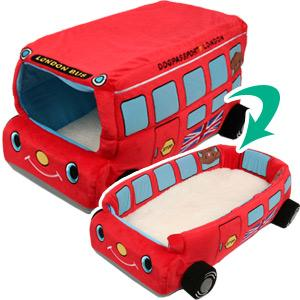 2WAYカドラー イングランドバス(5634) 犬 ドッグ ペット ベッド マット グッズ  カドラー