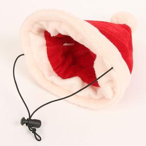 メリークリスマス 帽子(S・M)【クリスマス】 犬 ドッグ 帽子 アクセサリー グッズ クリスマス xmas ぼうし