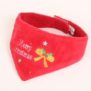 メリークリスマス バンダナ(S・M)【クリスマス】 犬 ドッグ バンダナ アクセサリー グッズ クリスマス xmas